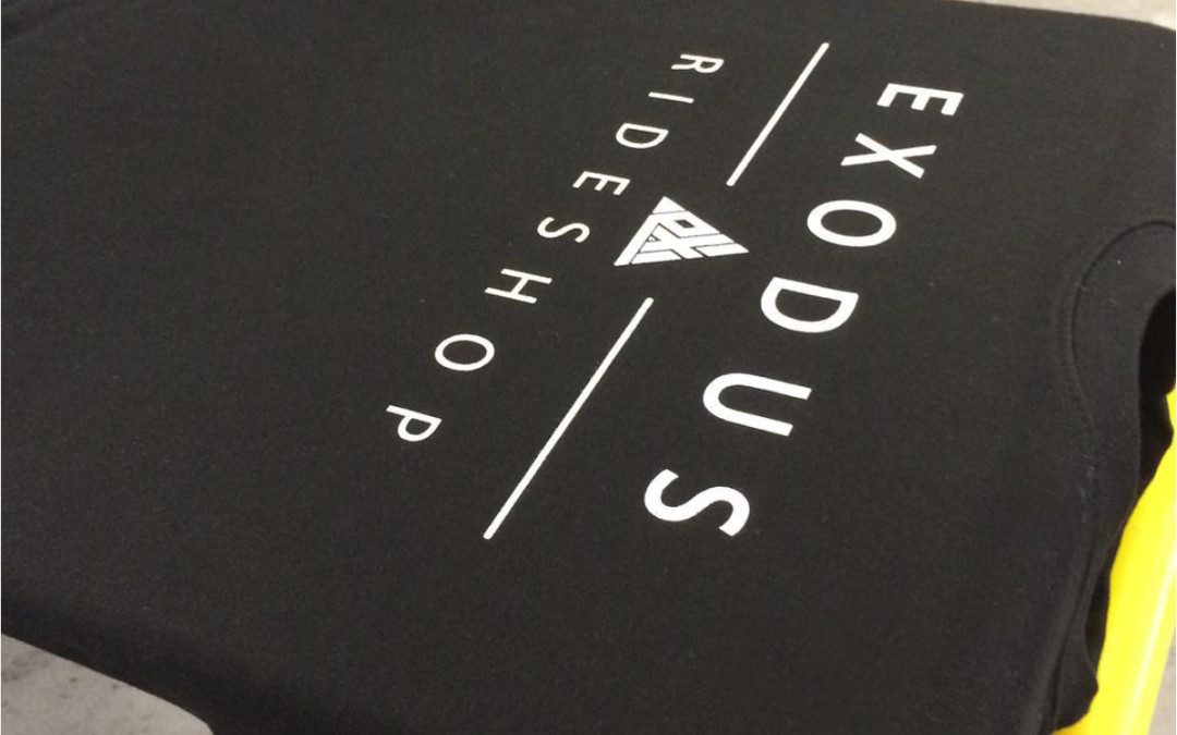 Sweatshirt Screen Printing | Exodus Ride Shop