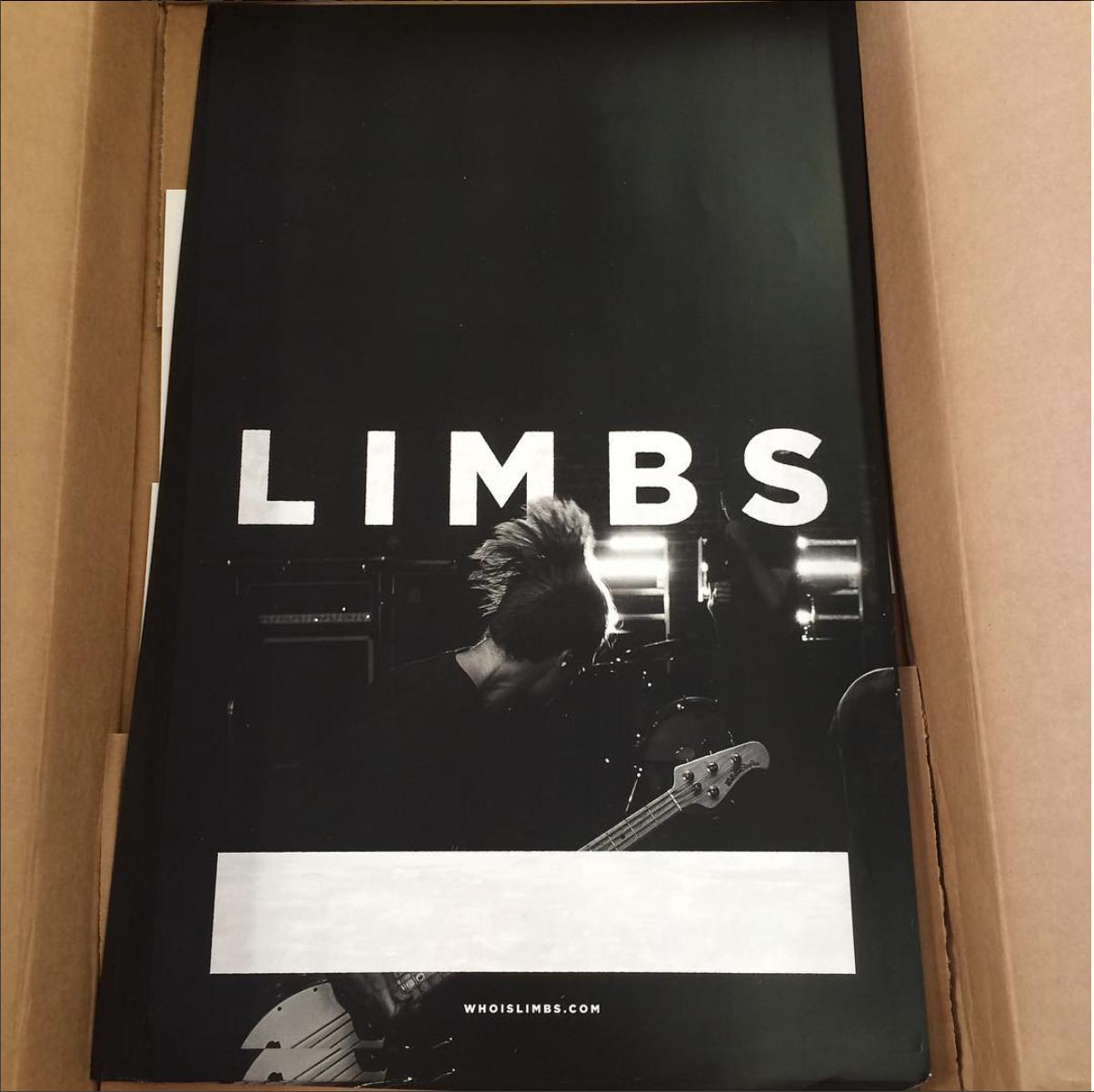 Poster Printing | Limbs Gig Poster