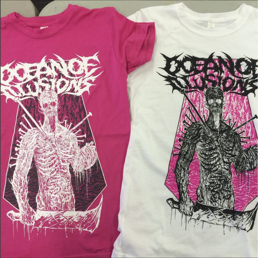 T-shirt Printing | Oceans of Illusion